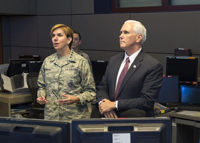 Vice President visits NORAD and USNORTHCOM