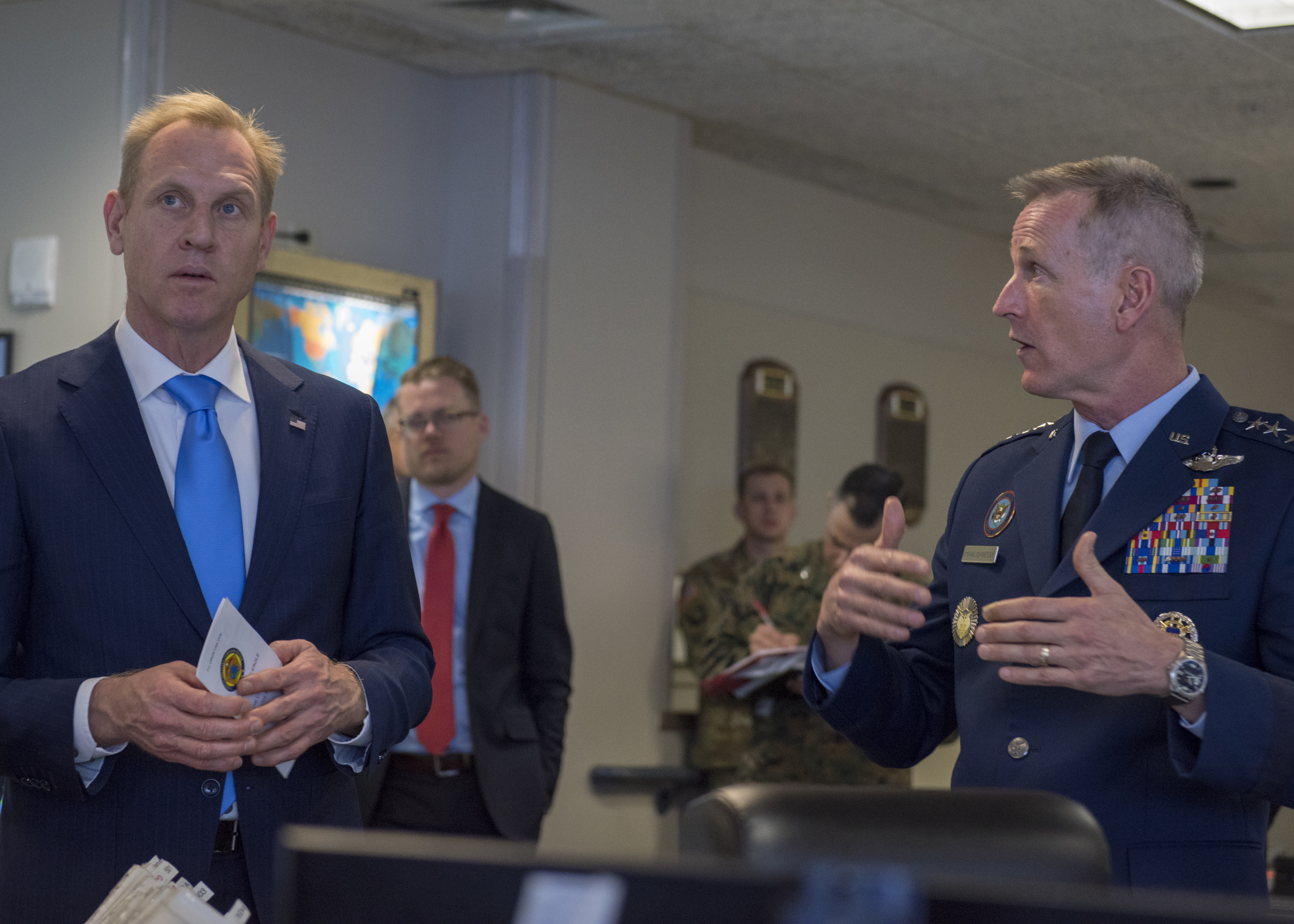 Acting SECDEF visits NORAD, USNORTHCOM