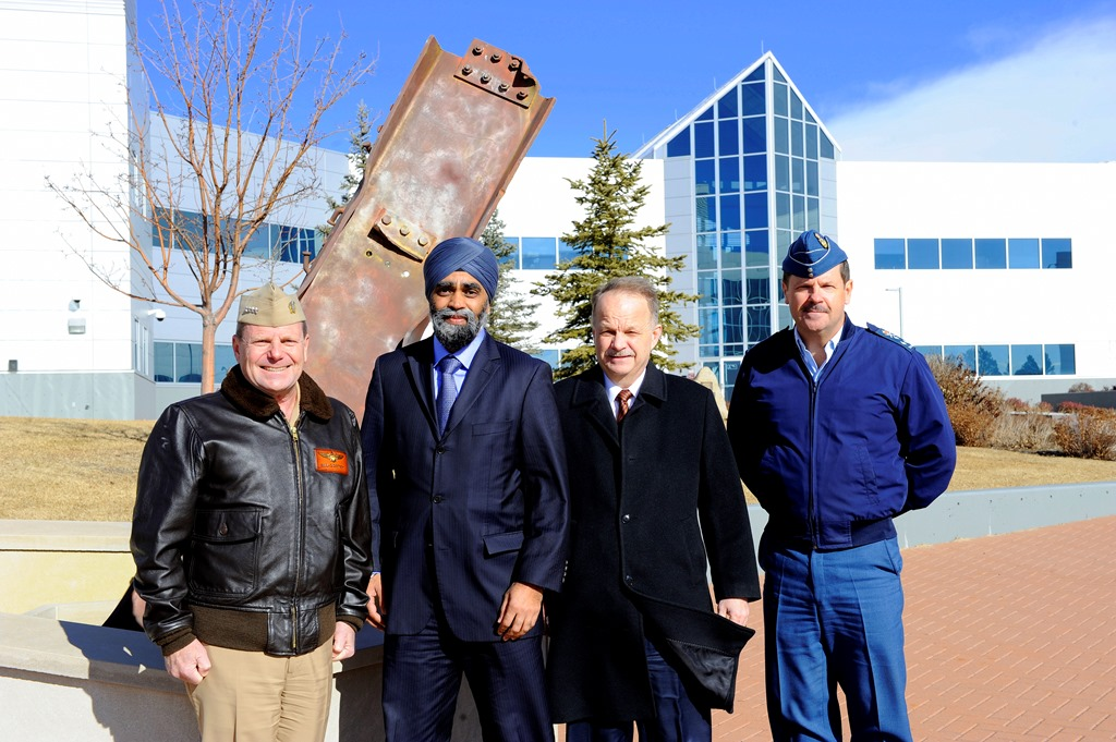 Canada's Defence Minister visits NORAD