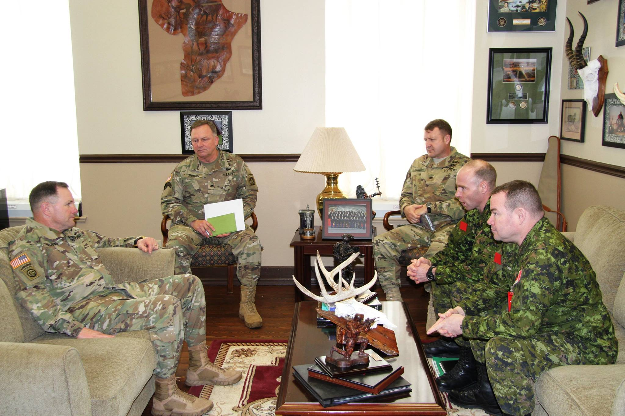 U.S. & Canadian Armed Forces, Partners in Defense