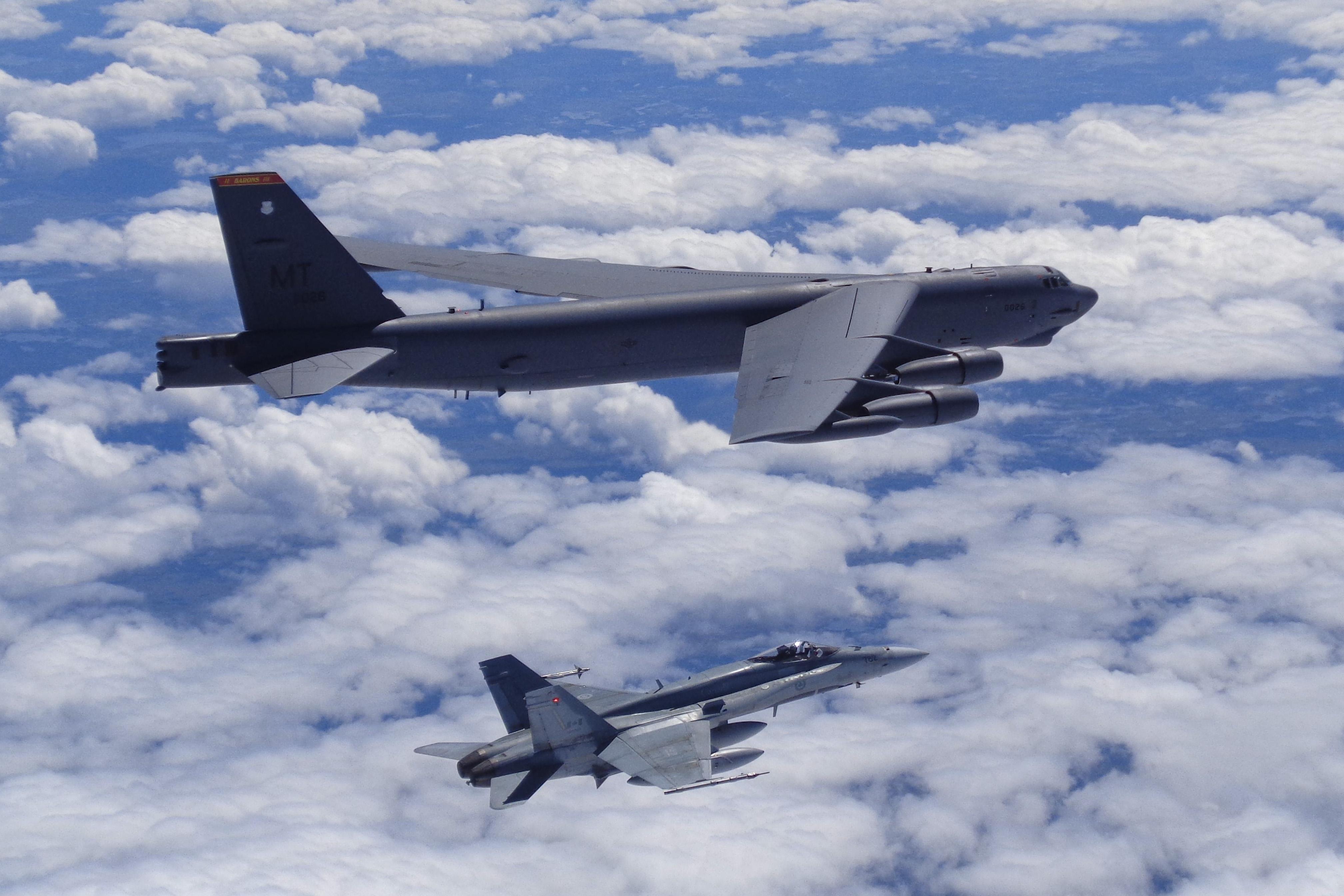 B-52 and CF-18