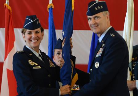 Robinson and Williams Change of Command