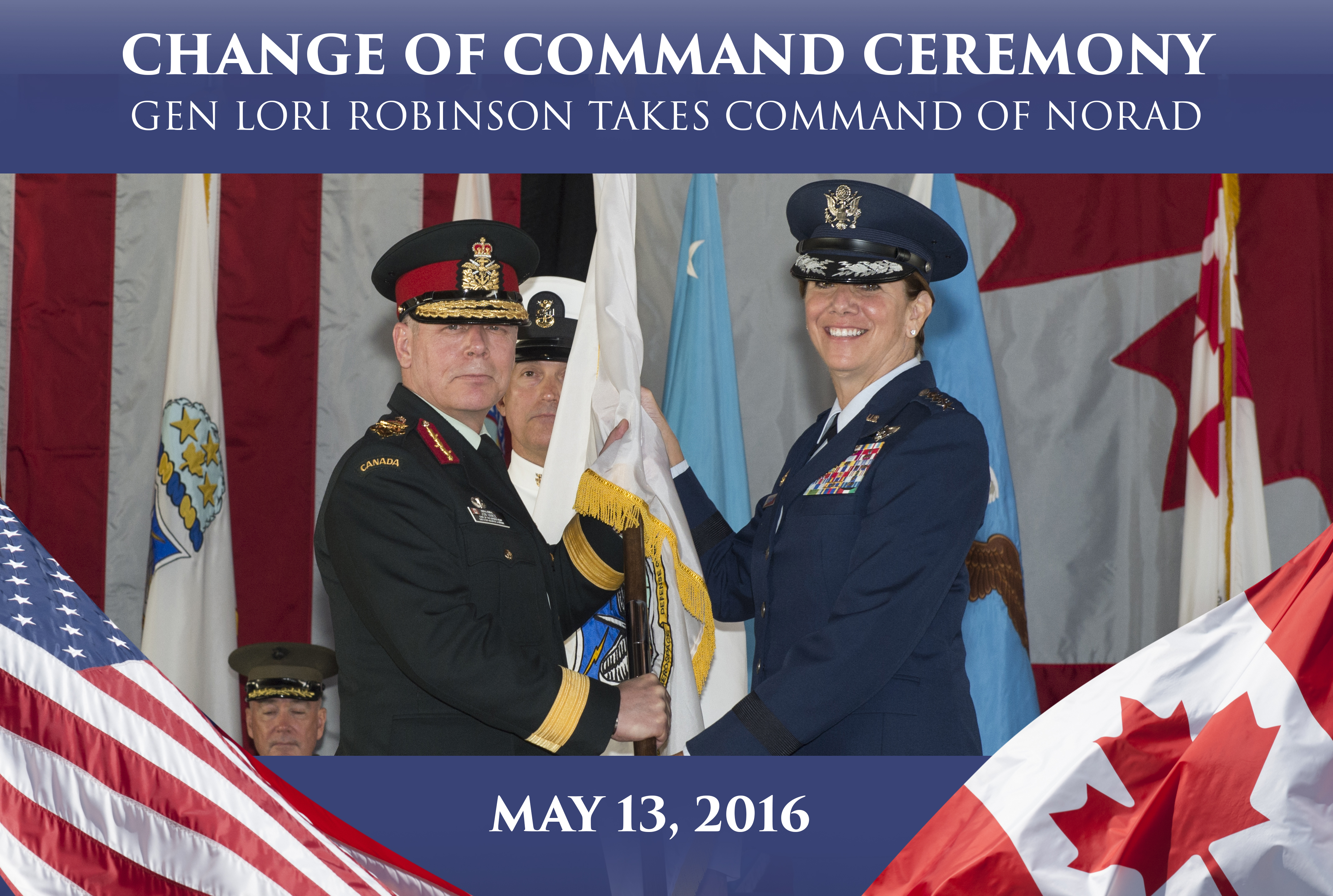 Gen Lori J. Robinson takes command of NORAD and USNORTHCOM
