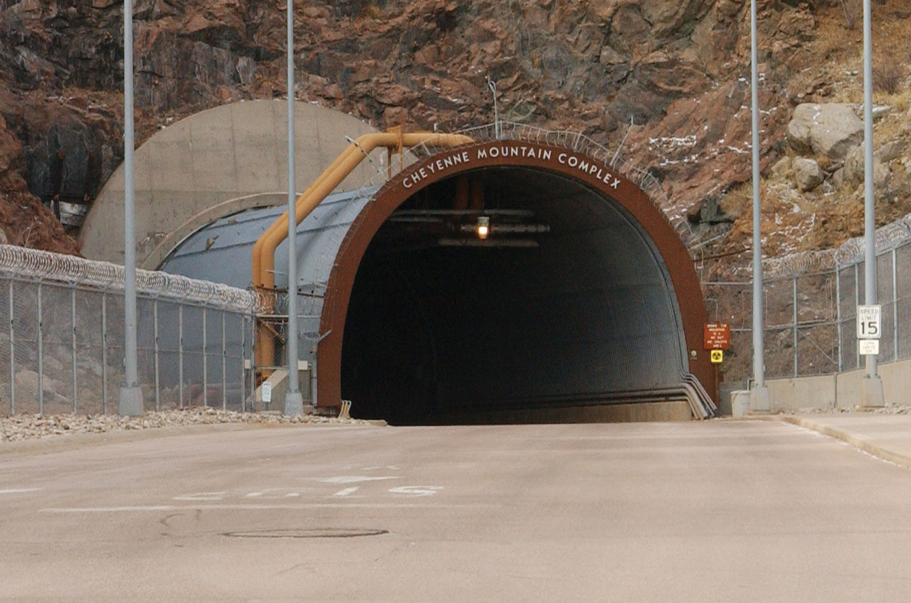 Cheyenne Mountain North Portal